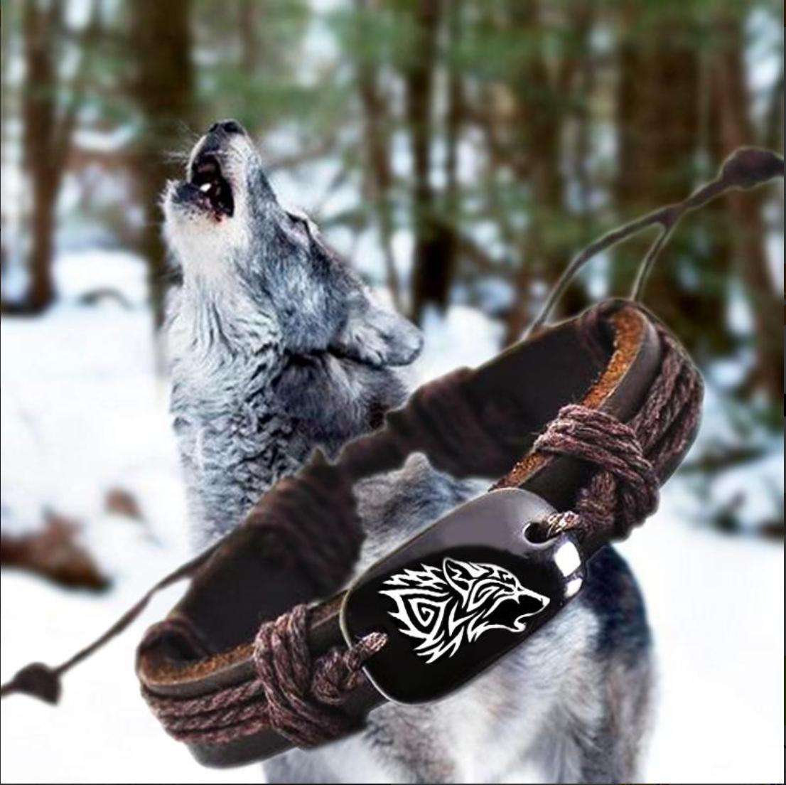 Vintage Wolf Bracelet